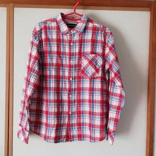 タウンアンドカントリー(Town & Country)の赤系 チェックシャツ(Tシャツ/カットソー(七分/長袖))