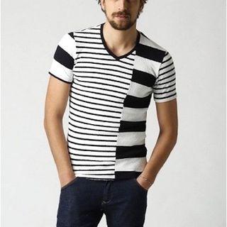 ダブルジェーケー(wjk)の新品タグ付9720円17SS wjk パッチワークTシャツ AKMジュンハシモト(Tシャツ/カットソー(半袖/袖なし))