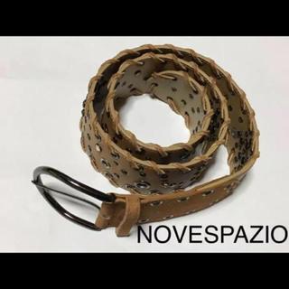ノーベスパジオ(NOVESPAZIO)のノーベスパジオ  NOVESPAZIO  ベルト (ベルト)