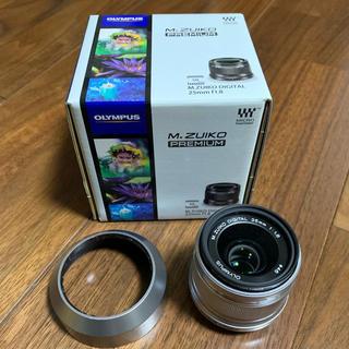 オリンパス(OLYMPUS)のm.zuiko digital 25mm f1.8(レンズ(単焦点))