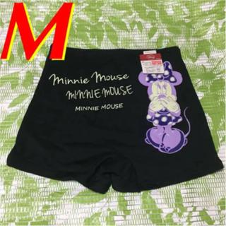 ディズニー(Disney)のM☆Disney/ディズニー オーバーパンツ(ミニーマウス)黒(アンダーシャツ/防寒インナー)