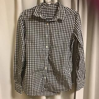 MUJI (無印良品) - 無印良品  ギンガムチェック  シャツ