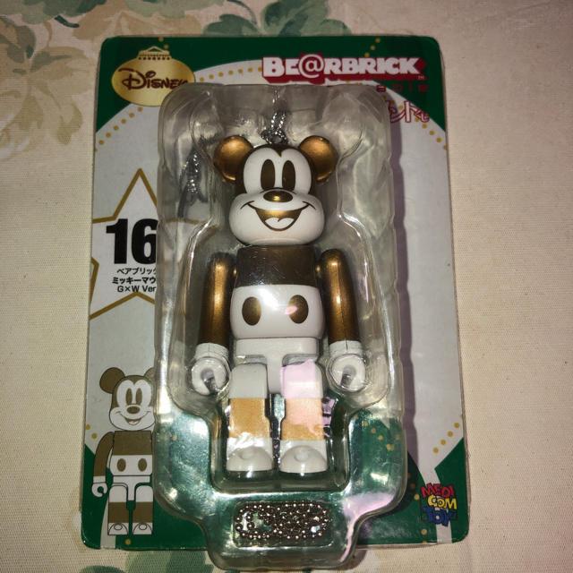ベアブリック ミッキーマウス G✕W エンタメ/ホビーのおもちゃ/ぬいぐるみ(キャラクターグッズ)の商品写真