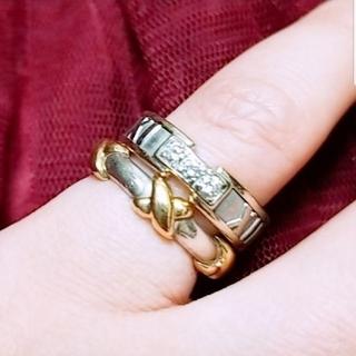 ティファニー(Tiffany & Co.)のひゅろ様専用 ティファニー K18 925 シグネチャー リング(リング(指輪))