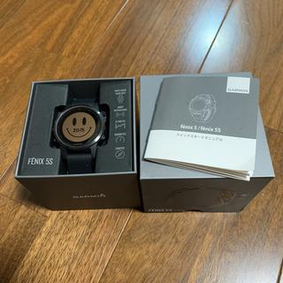 ガーミン(GARMIN)のGarmin fenix5s sapphire(腕時計(デジタル))