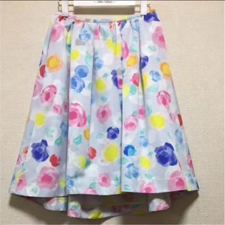 チェスティ(Chesty)の最終価格♡美品♡チェスティ  スカート 花柄(ひざ丈スカート)