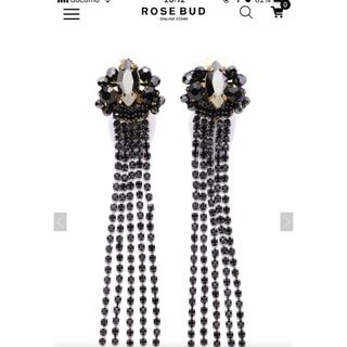 ローズバッド(ROSE BUD)のイヤリング(イヤリング)