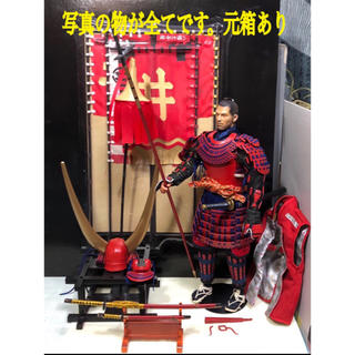 1/6 甲冑武将 井伊直政 一部カスタム(ミリタリー)