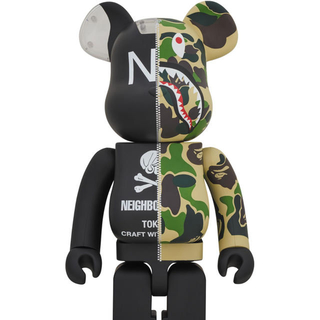 A BATHING APE - A BATHING APE NEIGHBORHOOD 1000% bape