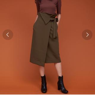 アントマリーズ(Aunt Marie's)のラップスカート(ひざ丈スカート)