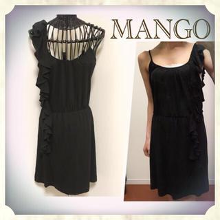 マンゴ(MANGO)の【マンゴー】キャミソールワンピース✳︎オールインワン✳︎スカート(ミニワンピース)