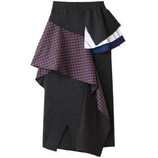 エンフォルド(ENFOLD)の新品未使用 ENFOLD Victorian コンビロングスカート 2018AW(ロングスカート)