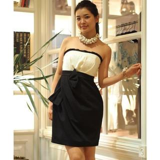 イランイラン(YLANG YLANG)のYLANG YLANG イランイランのプライム フロントリボン ドレス(ミディアムドレス)