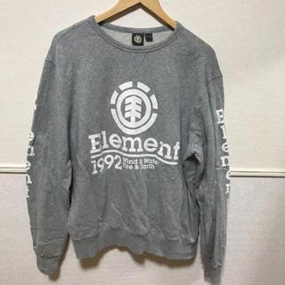 エレメント(ELEMENT)のエレメント ビックロゴ トレーナー(スウェット)
