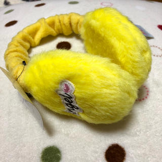 エンジェルブルー(angelblue)の新品♪Angel Blue*エンジェルブルー♪耳あて黄色¥3045(その他)