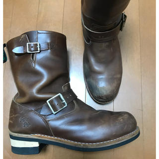 ゲッタグリップ(GETTA GRIP)のゲッタグリップ エンジニアブーツ スチールトゥ 茶 28cm(UK9)(ブーツ)