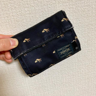 アンダーカバー(UNDERCOVER)の【最終値下】porter undercover 財布(折り財布)