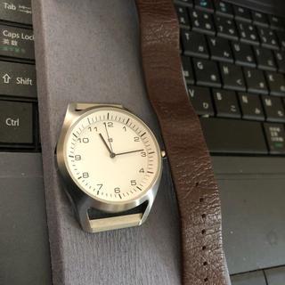 プラスマイナスゼロ(±0)の腕時計 プラスマイナスゼロ 深澤直人(腕時計(アナログ))