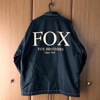 サンタモニカ(Santa Monica)の希少 90'sFOX BROTHERS オーバーサイズ ナイロンコーチジャケット(ナイロンジャケット)