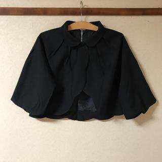 メルロー(merlot)の●新品 メルロープリュス  ボレロ    ブラック    フリーサイズ (ボレロ)