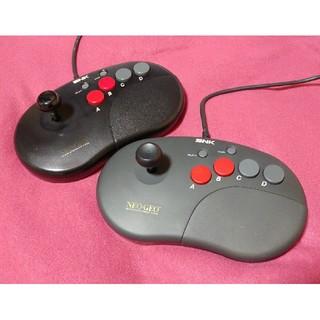 ネオジオ(NEOGEO)のネオジオCDコントローラープロ2台セット(中古)(家庭用ゲーム本体)