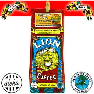コナ(Kona)のLION coffee ライオンコーヒー(コーヒー)