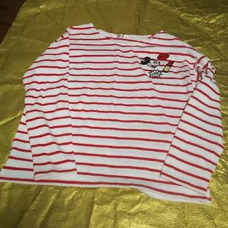ディズニー(Disney)のひまわりさん専用ミニー長袖Tシャツ(Tシャツ(長袖/七分))