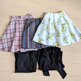 マーキュリーデュオ(MERCURYDUO)のスカートまとめ売り(ミニスカート)