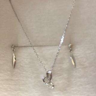 テイクアップ(TAKE-UP)のテイクアップ福袋 ダイヤモンドネックレスとピアス(ネックレス)