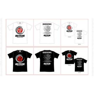 ジェネレーションズ(GENERATIONS)のGENERATIONS ライブTシャツ(アイドルグッズ)