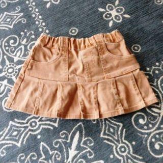 スキップランド(Skip Land)のプリーツ風スカート 80サイズ(スカート)
