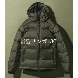 ナンガ(NANGA)の新品 ナンガ ×DOORS AURORA ダウンジャケット カーキ 36(ダウンジャケット)