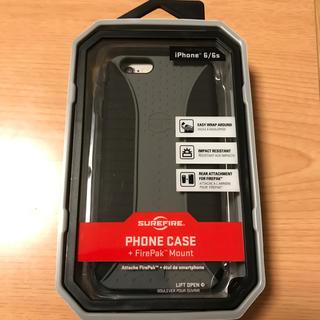 シュアファイア(SUREFIRE)のSUREFIRE iPhoneケース 6/6s用 新品未使用(iPhoneケース)