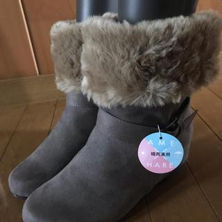 ヴェリココ(velikoko)のヴェリココ  インヒールムートンブーツ 24.5(ブーツ)