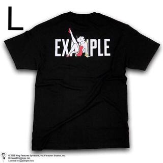EXAMPLE betty boop tee Lサイズ(Tシャツ/カットソー(半袖/袖なし))