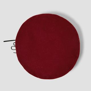 ザラ(ZARA)の【新品】ZARA  リボン付きベレー帽(ハンチング/ベレー帽)