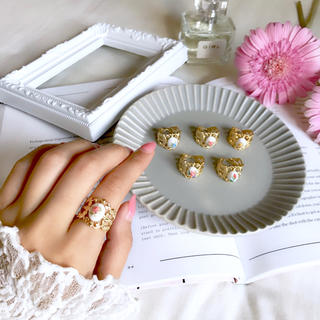 antique pearl ring(リング)
