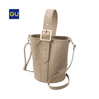 ジーユー(GU)のGU バケツ型ショルダーバッグ(ハンドバッグ)