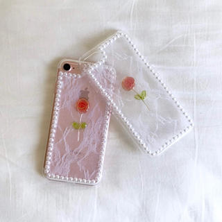 iPhone case - rose -(スマホケース)