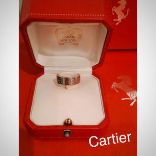 カルティエ(Cartier)のくれあ926様専用 Cartier カルティエ ラブリング ホワイトゴールド (リング(指輪))