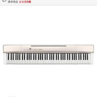 カシオ(CASIO)の【新品電子ピアノ】casioキーボード(88鍵盤/ゴールド) PX‐160GD(電子ピアノ)