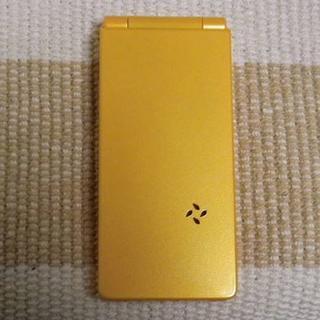 エヌティティドコモ(NTTdocomo)の未使用♪ ドコモ N-03A アプリコットオレンジ [NN01-421](携帯電話本体)
