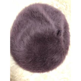 イーハイフンワールドギャラリー(E hyphen world gallery)のファー ベレー帽(ハンチング/ベレー帽)