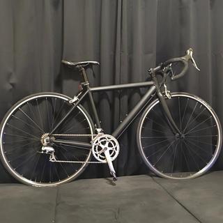 ジオス(GIOS)のGIOS ジオス AL LITE アルライト マットブラック再塗装 ロードバイク(自転車本体)