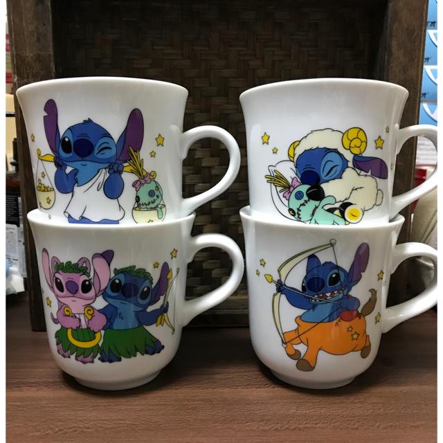 Disney(ディズニー)の[未使用品]スティッチ 12星座マグカップセット インテリア/住まい/日用品のキッチン/食器(グラス/カップ)の商品写真