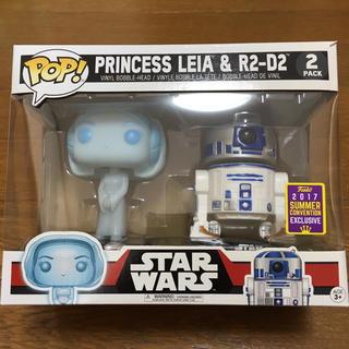 ディズニー(Disney)の【新品未開封・限定】 Funko POP ファンコ ポップ レイア姫 R2-D2(SF/ファンタジー/ホラー)