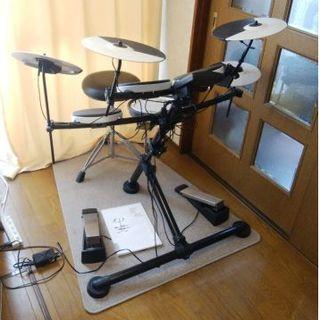 ローランド(Roland)のRoland  V-Drums TD-1KV 追加シンバル 椅子 マット付 (電子ドラム)