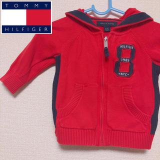 トミーヒルフィガー(TOMMY HILFIGER)の【セール】TOMMY HILFIGER ベビー服 ニットパーカー(ニット/セーター)