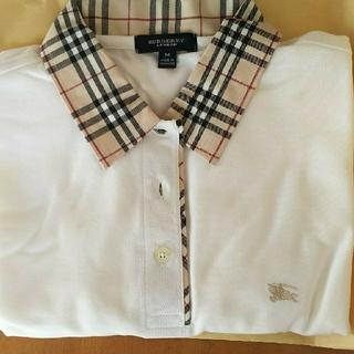 BURBERRY - (値下げ)バーバリー 半袖ポロシャツ Mサイズ