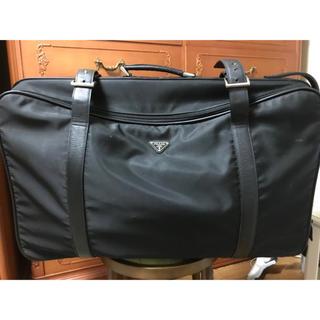 プラダ(PRADA)のPRADAナイロントランク型スーツケース(スーツケース/キャリーバッグ)